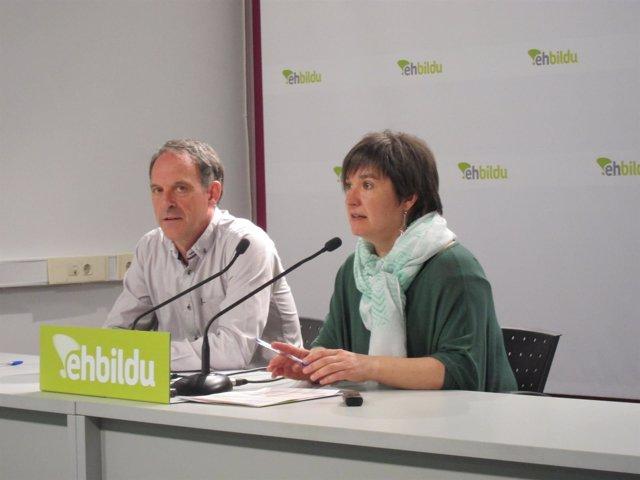 Adolfo Araiz y Maribi Ugarteburu