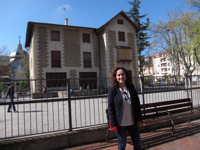 Arraiz en el antiguo colegio de Gallarza
