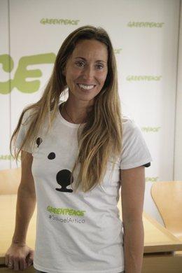 Gemma Mengual, exnadadora de sincronizada