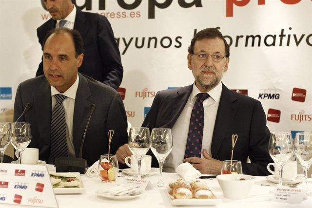 Juan Ignacio Diego y Mariano Rajoy