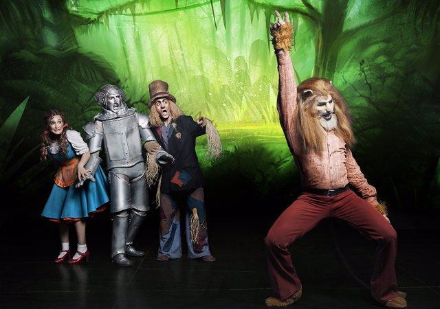 El musical 'El mago de Oz' llega al Palacio de Festivales
