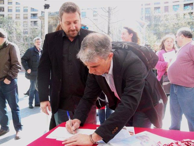 Jose Luis Soro y Juan Martin