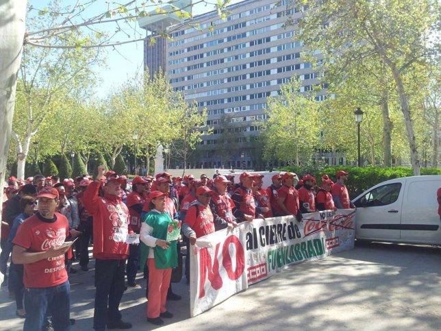 Trabajadores de Coca-Cola ante el Tribunal Supremo