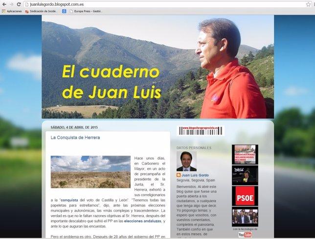 Blog 'El cuaderno de Juan Luis'