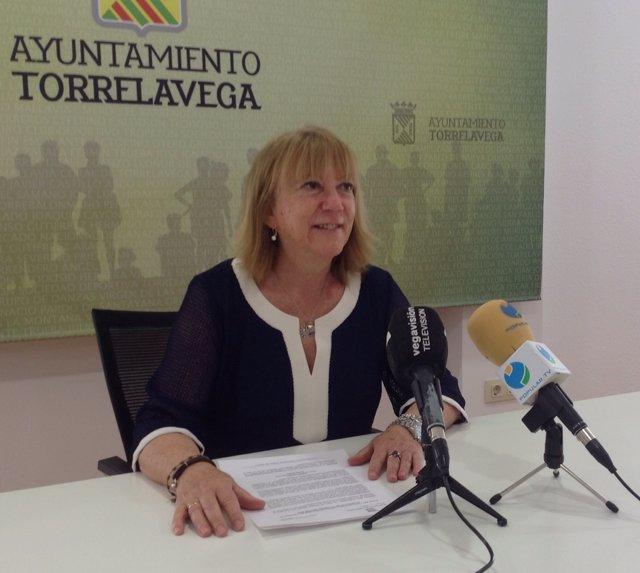 Paloma Santillán, concejala de Festejos