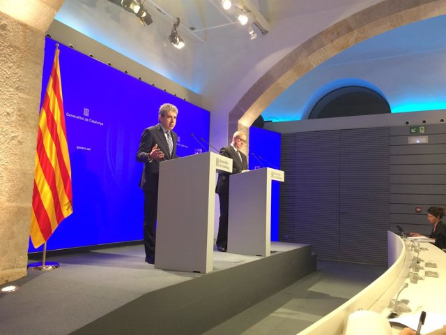 Francesc Homs, Felip Puig, consellers de la Generalitat