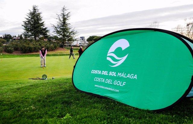 Campo de golf torneo amateur