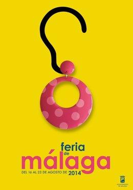 Cartel de la Feria de Málaga 2014