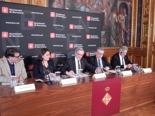 E.Freixedes, S. Recasens, X.Trias, J. Padrós (Comb) y E. Enrech (Coacb)