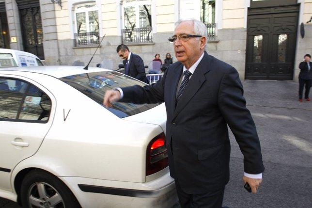 Juan José Imbroda comparece en el Tribunal Supremo