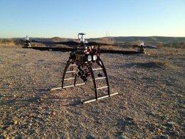 Dron de la compañía Zerintia