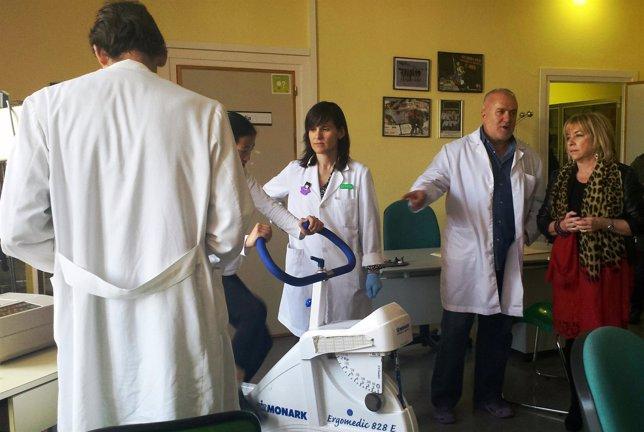 Serrt en el Centro Aragonés de Medicina del Deporte