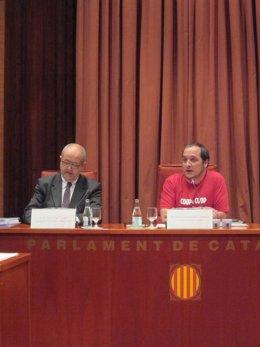 Conseller Felip Puig, David Fernández (CUP)
