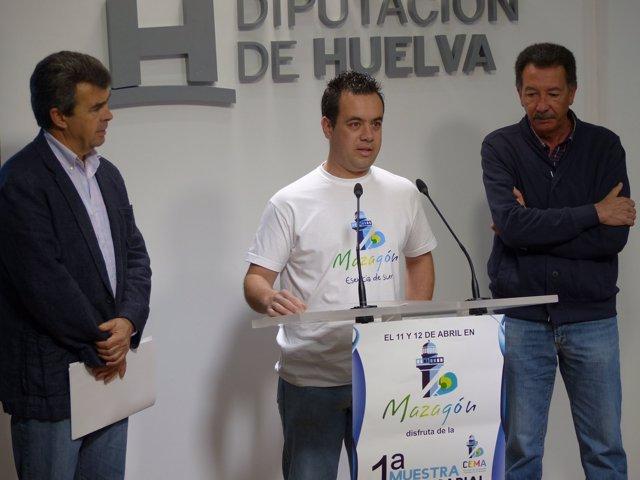 Presentación de la feria empresarial de Moguer.