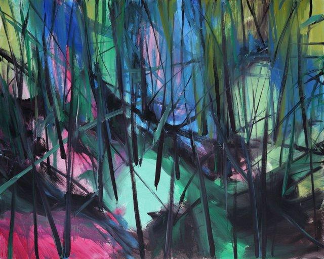 Obra de Jorge Rando paisaje pintura arte expresionismo cultura