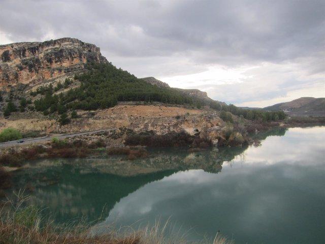 Uno de los pantanos