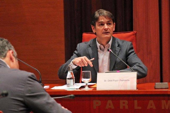 Oriol Pujol en la comisión de fraude del Parlament (Archivo)