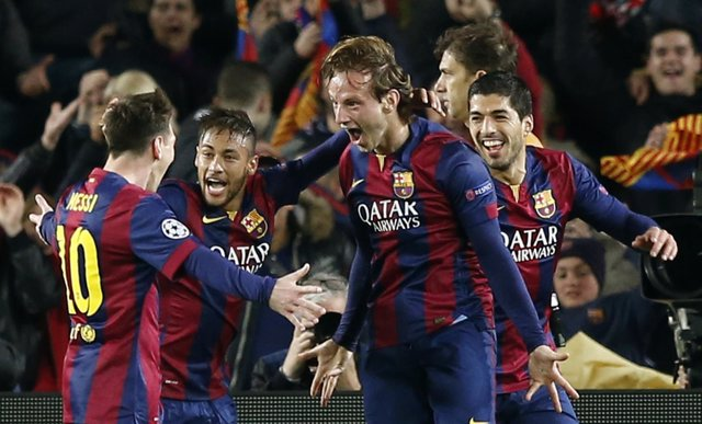 El FC Barcelona supera al Manchester City en Liga de Campeones