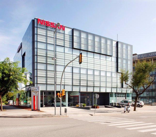 Nueva sede de Nissan en Barcelona