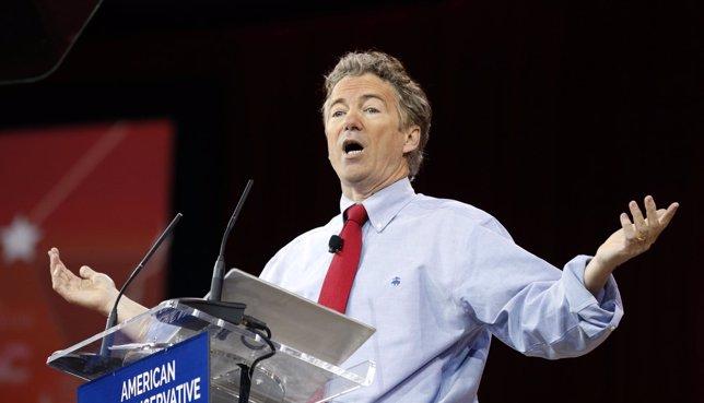 El senador republicano Rand Paul