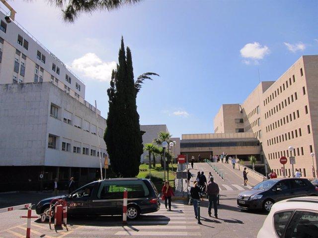 Perspectiva general del Hospital Universitario Reina Sofía de Córdoba