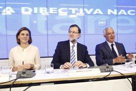 Cospedal pide trabajar con ganas e ilusión ante las elecciones de mayo