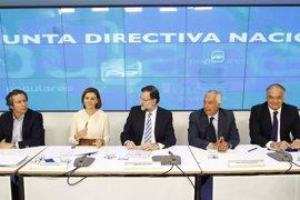 """Floriano dice que el PP es el partido de la """"respuesta"""", no de la """"rabia ni de la indefinición"""""""