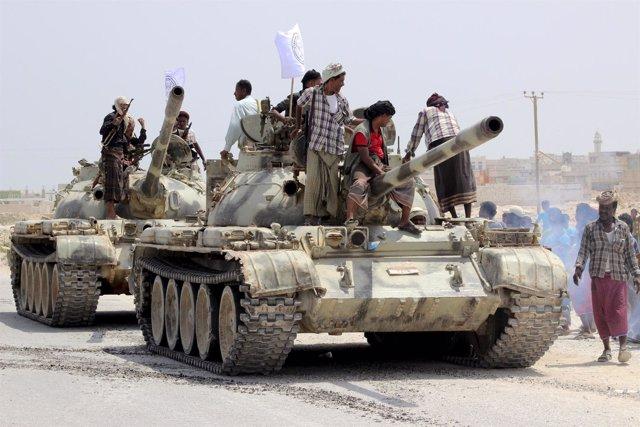 Lucha en Yemen