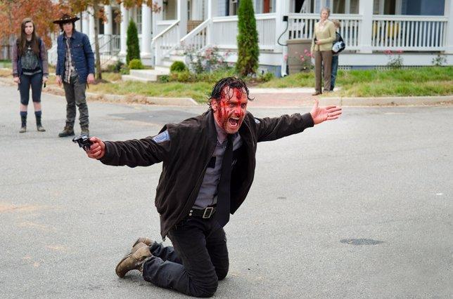 The Walking Dead: Andrew Lincoln explica la lucha más épica y sangrienta de la t