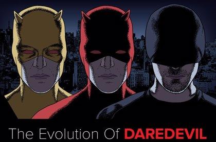 Daredevil: Así ha evolucionado su traje en 50 años
