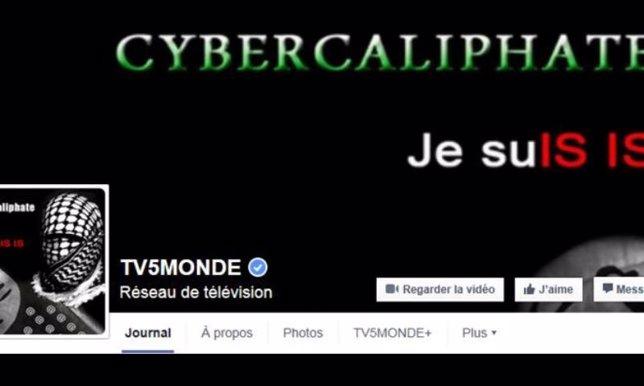 La cadena de televisión francesa TV5 Monde hackeada