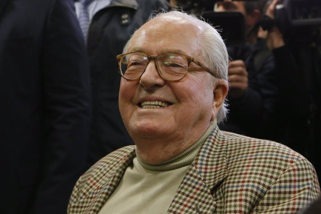 El fundador del Frente Nacional, Jean Marie Le Pen
