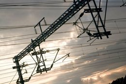 Electrificación de una línea ferroviaria
