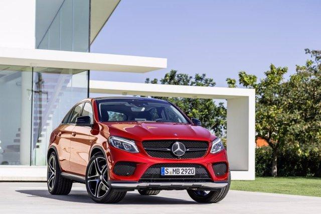 Mercedes-Benz GLE Cupé Starts