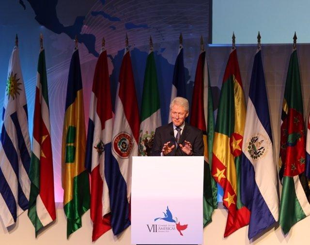 Bill Clinton en Panamá