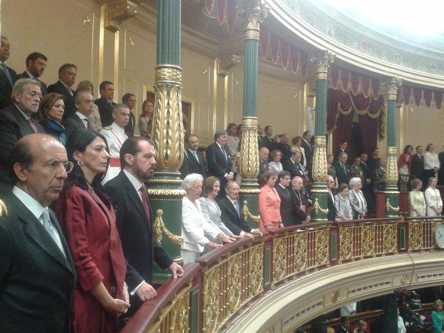 La familia de la Reina Letizia en la Proclamación de Feipe VI