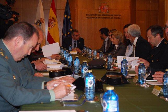 Reunión Comisión Seguimiento Plan Director Seguridad Escolar