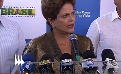 Rousseff defiende el derecho de los trabajadores con la ley de externalización
