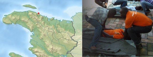Naufragio en Haití