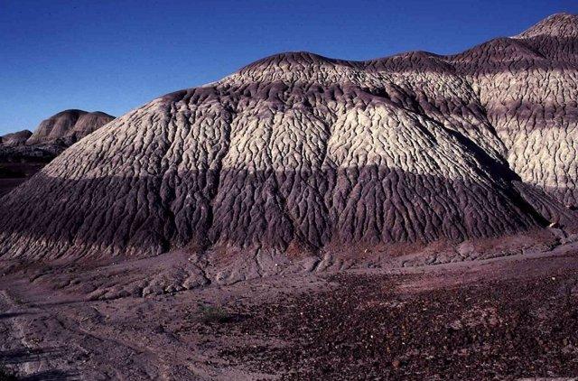 Estratos del Triásico en Arizona