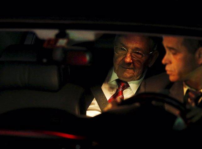 Raul Castro llega a Panamá