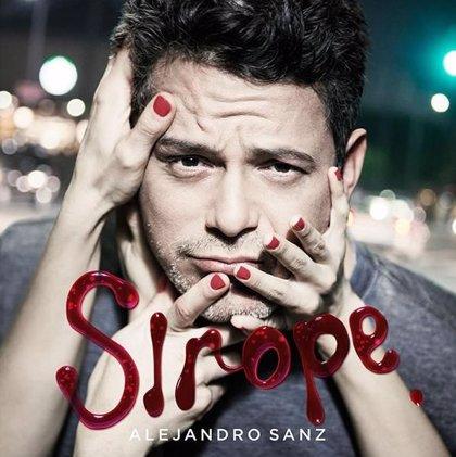 Alejandro Sanz muestra la portada de su nuevo disco: Sirope