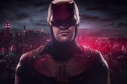 Primera imagen del traje rojo de Daredevil