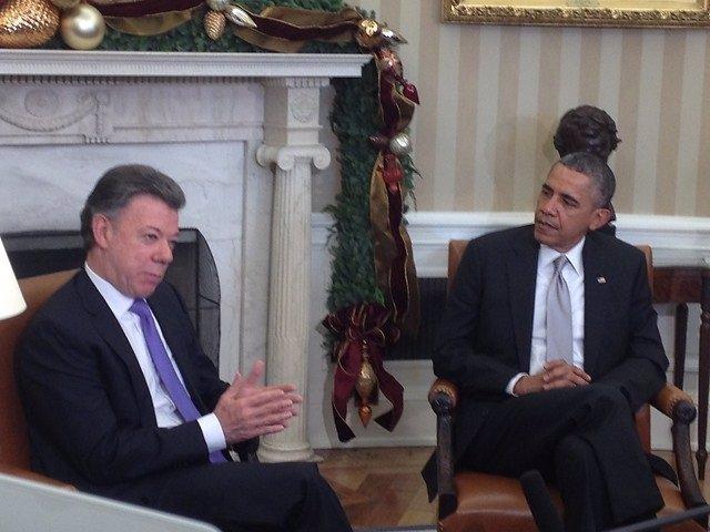 Santos y Obama hablarán de la paz en Colombia en Cumbre de Panamá