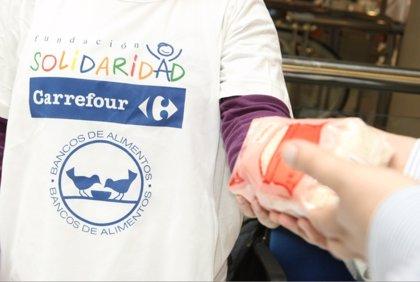 Hoy arranca la XXII Jornada Nacional de Recogida de Alimentos de Carrefour
