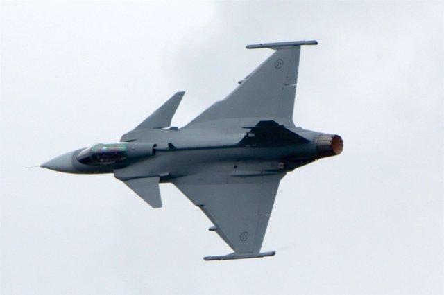 Caza de la Fuerza Aérea Sueca