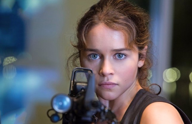 Emilia Clarke en Terminator Génesis