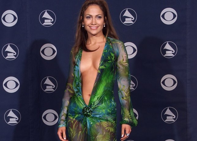 Jennifer Lopez backstage at the 42nd Annual Grammy Awards at Staples Center in L