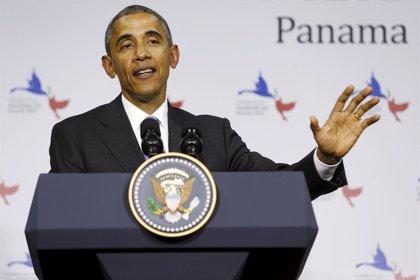 Cumbre.- Obama anuncia que no ha tomado una decisión sobre la eliminación de Cuba de los países que apoyan el terrorismo