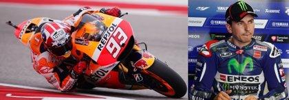 GP Las Américas: La 'carrera a pie' de Márquez para conseguir la pole
